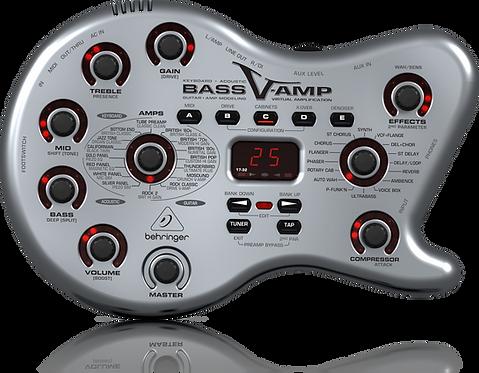 BEHRINGER BASS V-AMP AMP MODELING