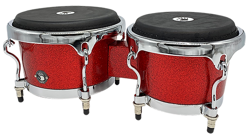 PROFESSIONAL FIBERGLASS BONGO WITH NEW ERGO-LUGS FOR SEATED PLAYERS