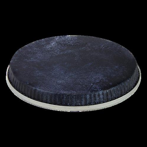 "REMO S-SERIES SKYNDEEP BONGO DRUMHEAD - BLACK CALFSKIN GRAPHIC, 6.75"""