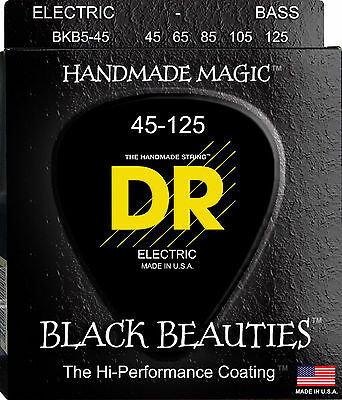 DR STRINGS BLACK BEAUTY   BKB5-45