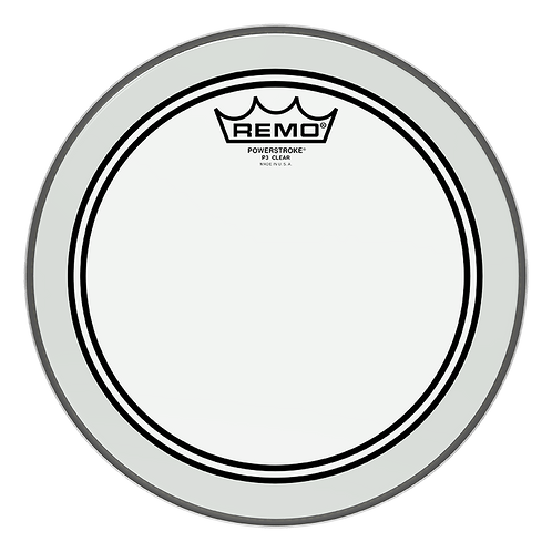 """REMO POWERSTROKE P3 CLEAR DRUMHEAD, 10"""""""