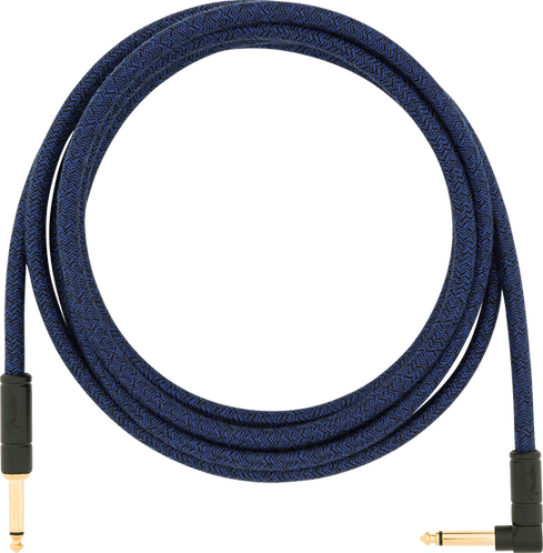 FENDER 10' ANG CABLE, BLUE DREAM