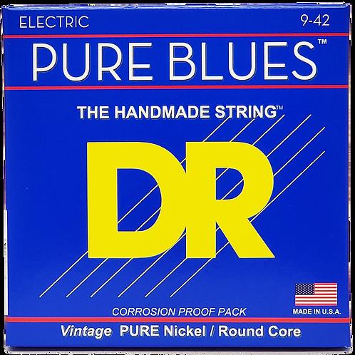 DR STRINGS PURE BLUES 9-42 LITE PHR-9