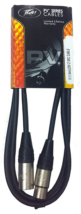 PEAVEY 5FT LOW Z MIC CABLE - 576210