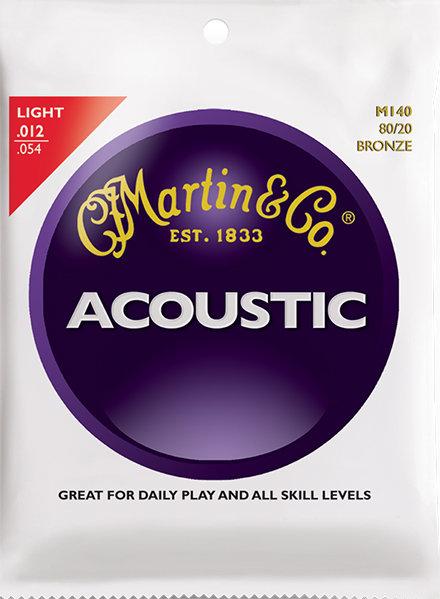 MARTIN ACOUSTIC SET - M140 .012-.054