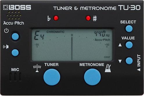 BOSS METRONOME & TUNER - TU-30