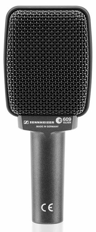 SENNHEISER e 609 SUPERCARDIOID GUITAR,  STUDIO OR LIVE PERFORMANCE