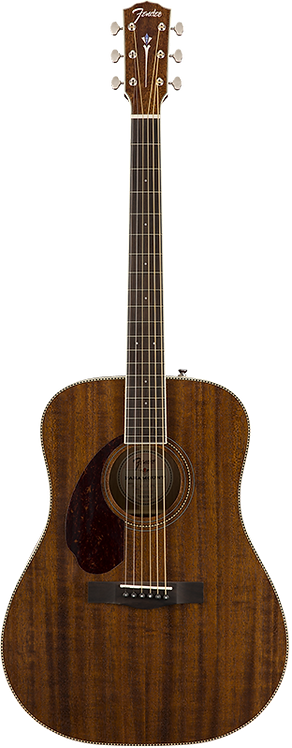 FENDER PM-1 DREADNOUGHT ALL-MAHOGANY LH WITH CASE