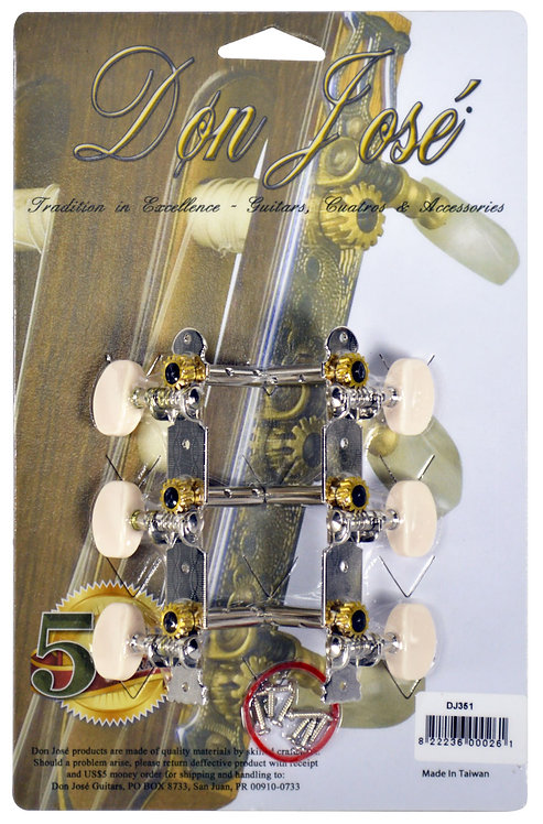 DON JOSE ACOUSTIC GUITAR MACHINE HEADS