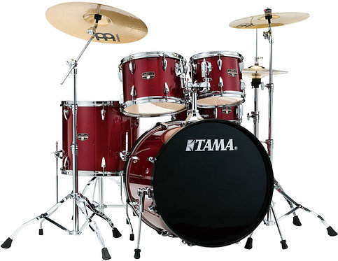 TAMA IMPERIALSTAR 5-PIECE COMPLETE SET W/CYMBALS AND STANDS
