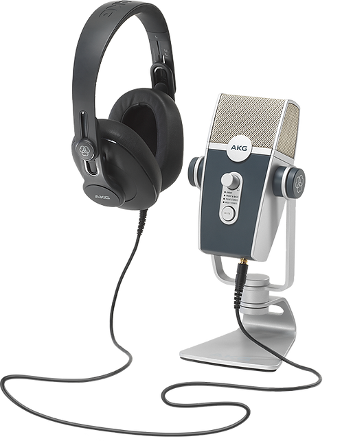 AKG PODCAST ESSENTIALS PACK - All-In-One Podcaster Kit