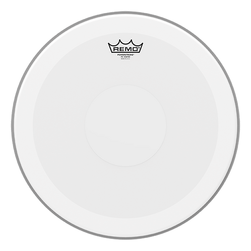 """REMO POWERSTROKE P4 COATED DRUMHEAD - TOP CLEAR DOT, 16"""""""