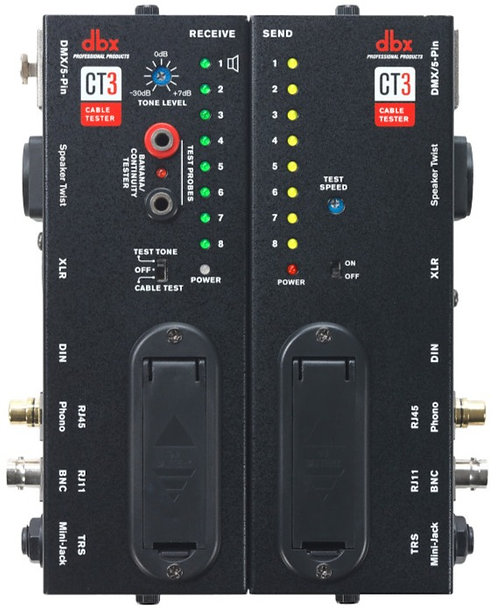 DBX ADVANCED CABLE TESTING UNIT CT3