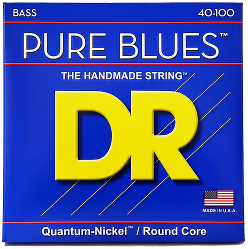 DR STRINGS PURE BLUES 40-100 PB-40