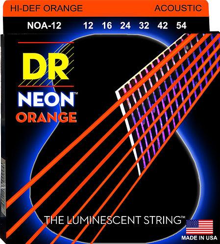 DR STRINGS HI DEF ORANGE NOA-12