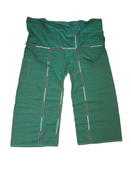 Handmade Cotton Fishermen Pants with embroidery