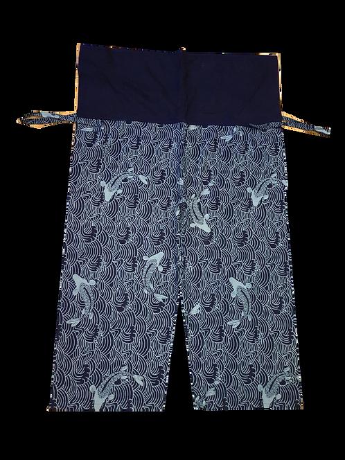 Indigo Print  Pants