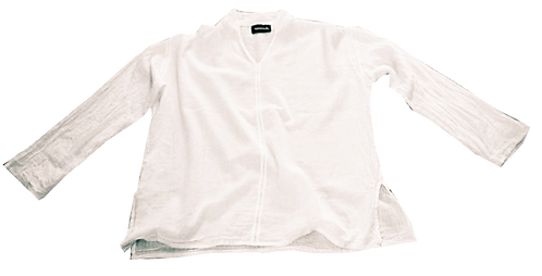 Fisherman's shirt white