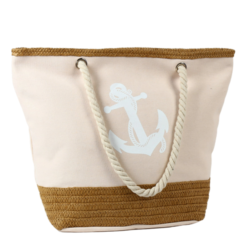 Anchor Strips Printing Canvas Bag