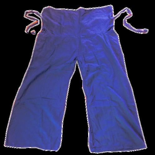 Tai Chi pants blue