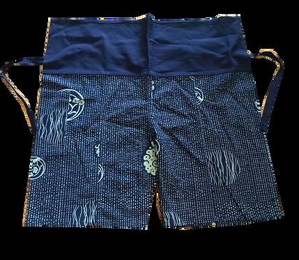 Indigo Print  Pants For Kids