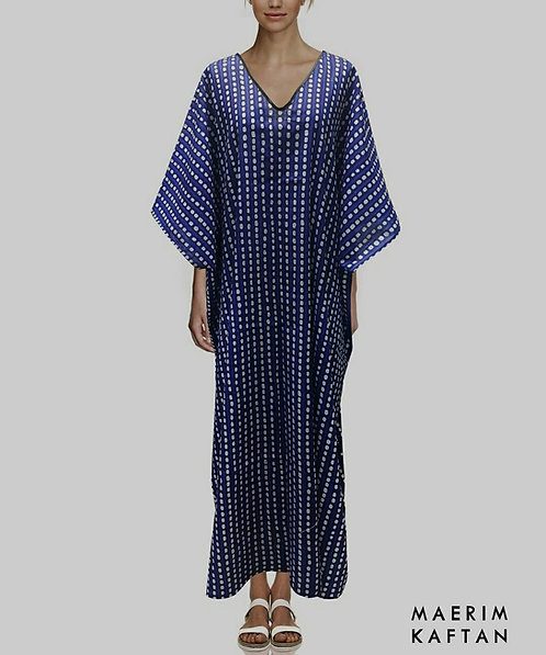 Traditional Blue Kaftan