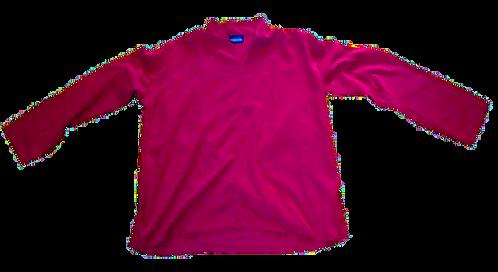Fisherman's shirt maroon