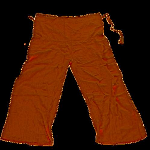 Tai Chi pants blood orange