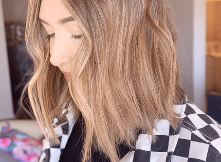 WHAT I LEARNED FROM SEEING A NEW HAIR STYLIST, IN A NEW CITY Bustling Brunette Blog