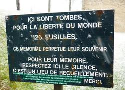 Ecriteau - Photographie de C Moreau pour Les Visites du Jeune Téméraire