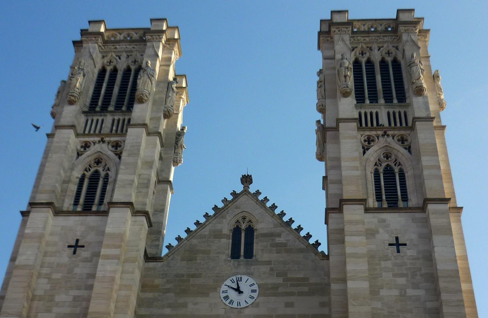 Cathédrale Saint-Vincent Chalon-sur-Saône  - Photographie de E Moreau pour Les Visites du Jeune Témé