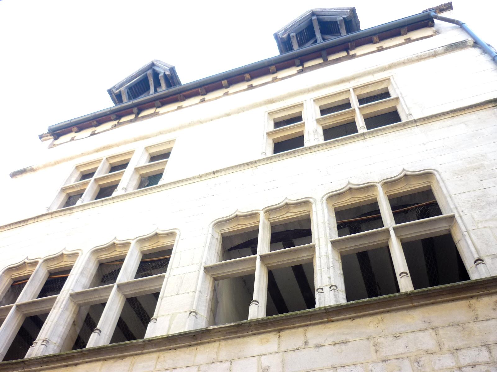 Hôtel particulier Chalon-sur-Saône  - Photographie de E Moreau pour Les Visites du Jeune Téméraire