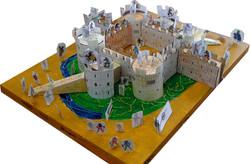 Maquette du château fort de Dijon - Photographie de E