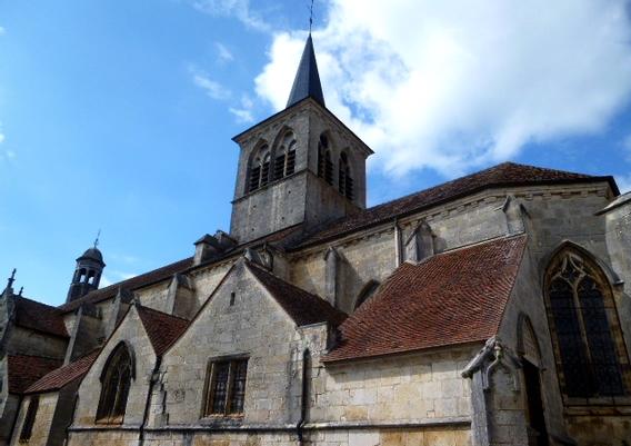 Flavigny-sur-Ozerain - Photographie de E Moreau pour Les Visites du Jeune Téméraire