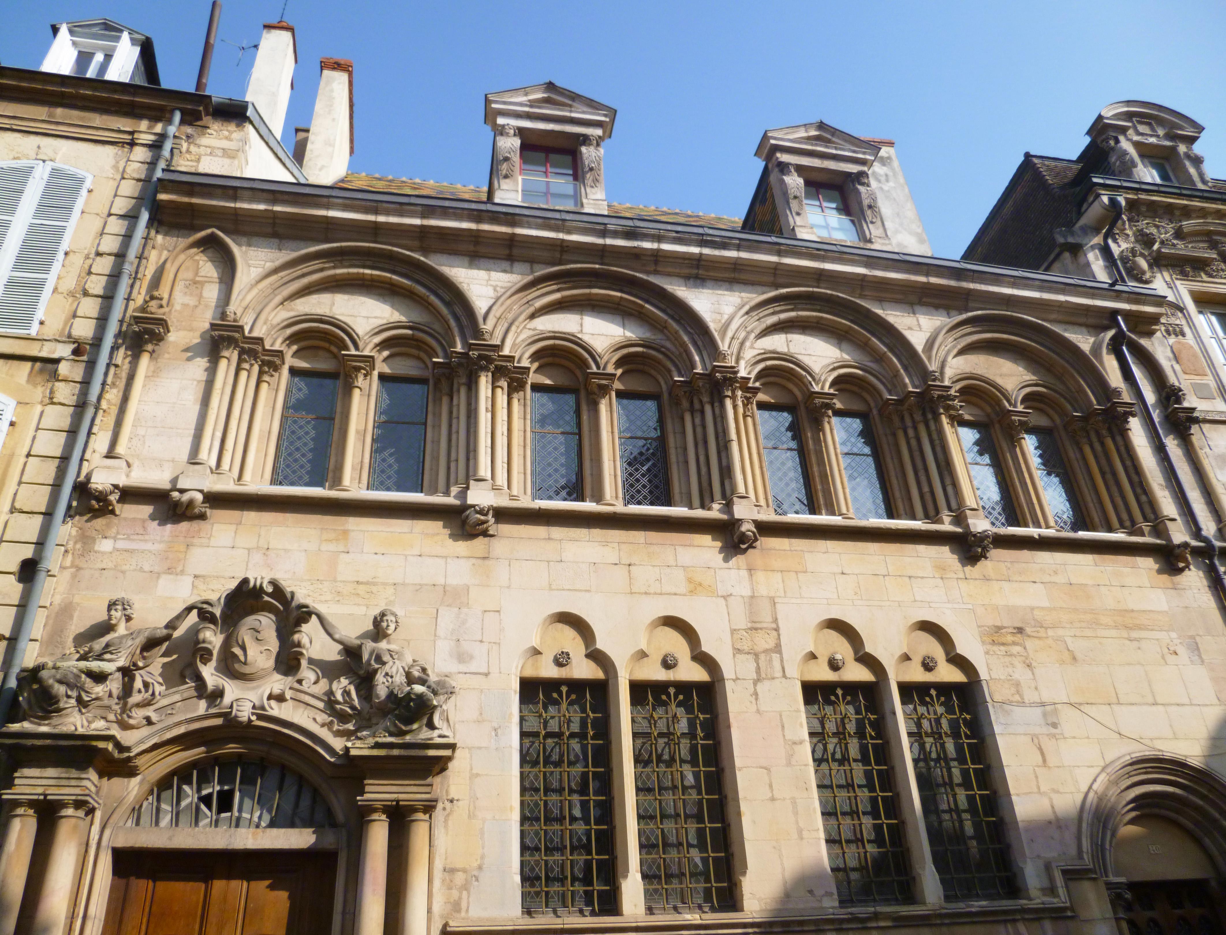 Hôtel Aubriot Dijon - Photographie de E Moreau pour Les Visites du Jeune Téméraire