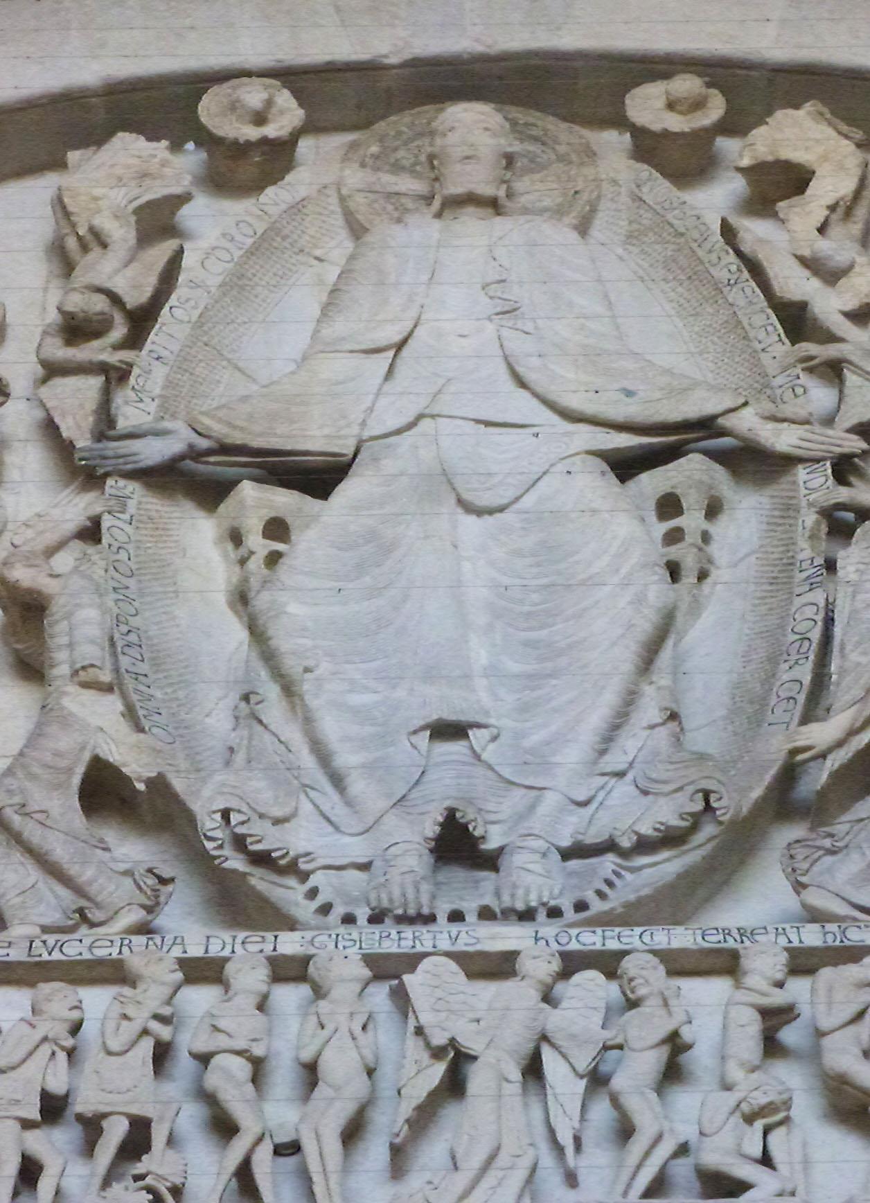 Cathédrale Saint-Lazare d'Autun - Photographie de E Moreau pour Les Visites du Jeune Téméraire