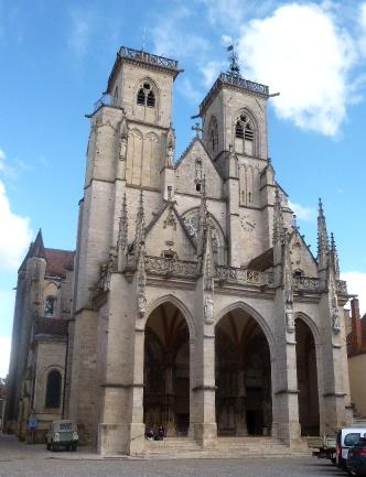 Cathédrale Notre-Dame de Semur-en-Auxois - Photographie de C Moreau pour Les Visites du Jeune Téméra