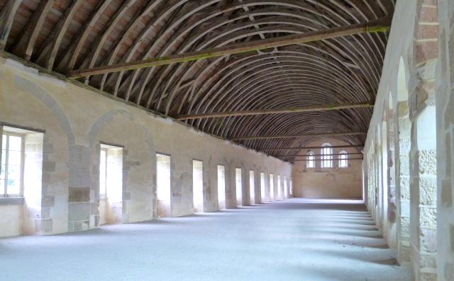 Abbaye de Fontenay  - Photographie de E Moreau pour Les Visites du Jeune Téméraire