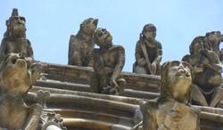 Gargouilles Notre-Dame de Dijon  - Photographie de E