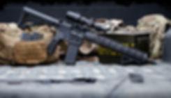 blackwater ironhorse SPR thumb fire rifle