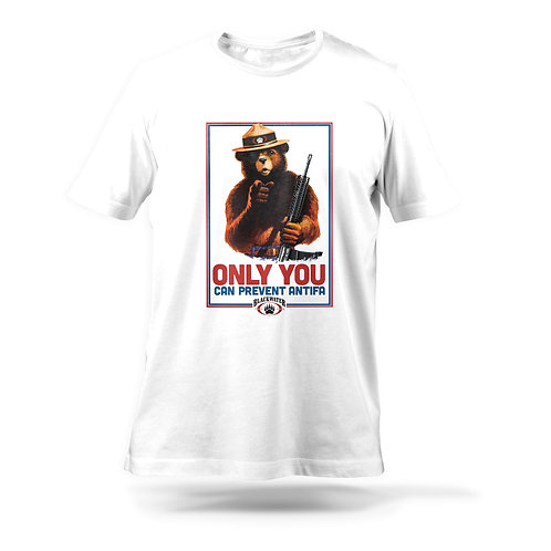 Only You Can Prevent ANTIFA Tee