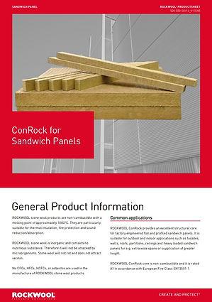 ConRock for Sandwich Panels