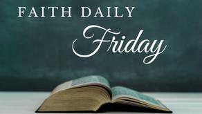 Faith Daily | 22 October 2021
