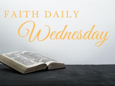 Faith Daily | 24 February 2021