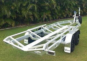 Aluminium boat trailers