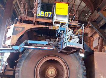 Emergency Egress Systems for Mining Trucks