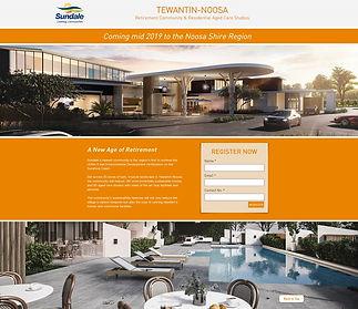 Sundale Tewantin-Noosa Landing Page