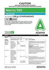 Adama Matrix Label.jpg
