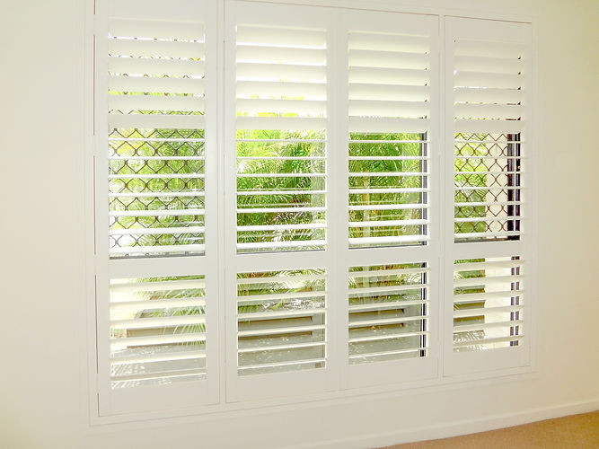 Internal plantation shutters in Brisbane northside location