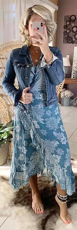 Ella Wrap - Blue Bindi